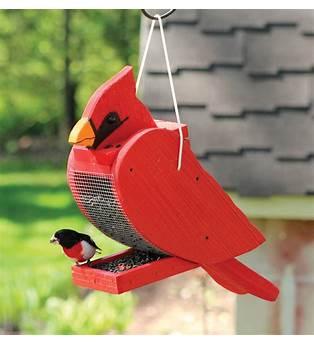 Cardinal Shaped Bird Feeder Plans