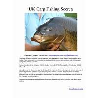 Carp fishing secrets inexpensive