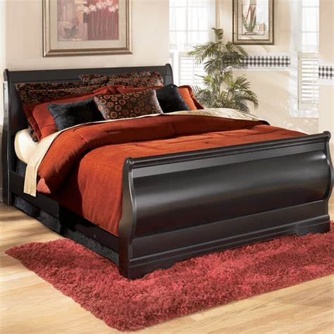Carpenter Sleigh Bed