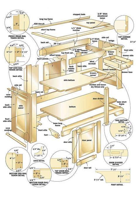 Carpentry blueprints Image