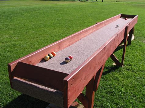 Carpetball table plans Image