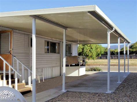 Carport designs for mobile homes Image