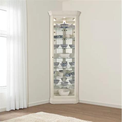 Carrizal Lighted Curio Cabinet
