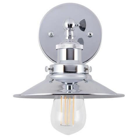 Carroll 1-Light LED Armed Sconce