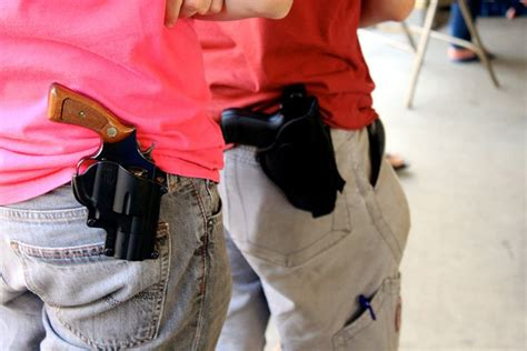 Carrying A Handgun While Traveling In Texas