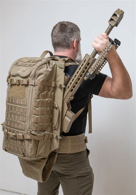 Carrying A Sniper Rifle