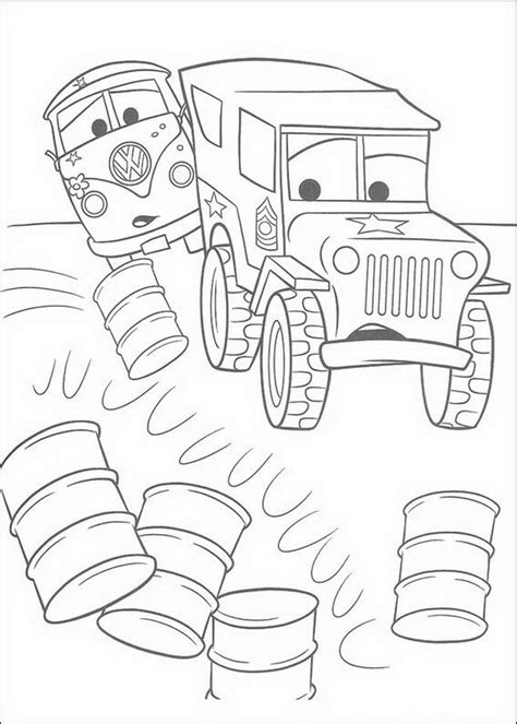 Cars Malvorlagen Online