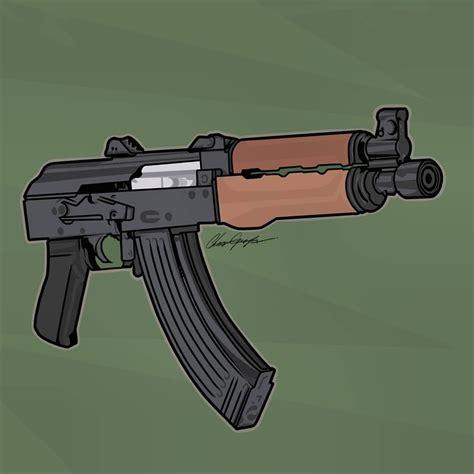 Cartoon Draco Gun