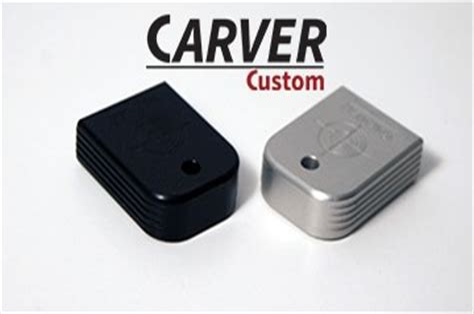 Carver Custom Tactical Base Pads For Glock Handguns