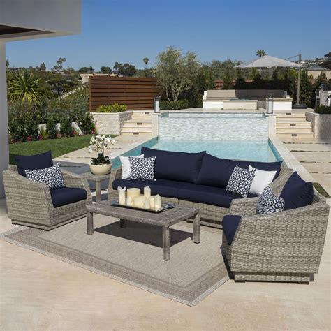 Castelli 6 Piece Sofa Set with Sunbrella Cushions