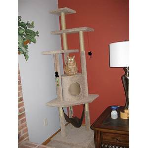 Best cat tree construction plans build cat towers, cat condos, scratching posts online