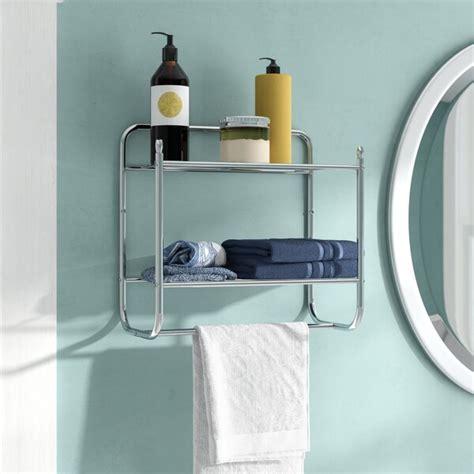 Cavazos Wall Mounted Towel Rack