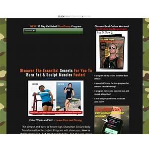 (cb) sgt shanahan 30 day kettlebell bootcamp body transformation program ? ryan raw coupon