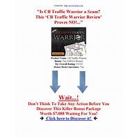 Buy cb traffic warrior