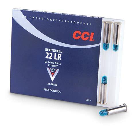 Cci 22 Lr 31-grain Rimfire Handgun Shotshells