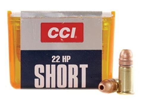 CCI 22 Short Ammo 27 Grain Plated Lead Hollow Point