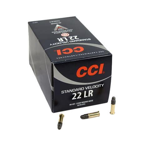 Cci 22lr Standard Velocity 500rd Box 50035