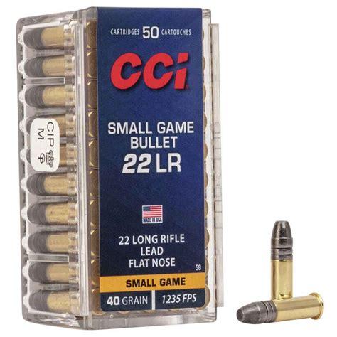Cci Ammunition Small Game