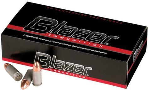 CCI Blazer Aluminum Handgun Ammunition 25 ACP 50 Gr TMJ