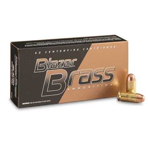 Cci Blazer Brass 45 Acp Ammunition 50 Rounds Fmj 230