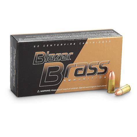 Cci Blazer Brass 9mm 115gr Fmj 50rds Gun Deals