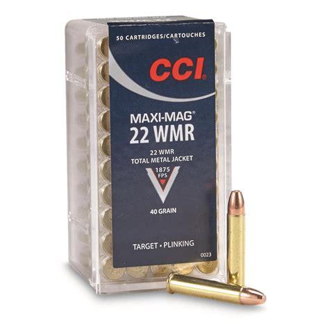 Cci Maxi Mag 22 Magnum Ammo