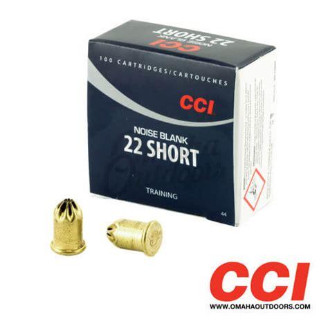 Cci Noise Blank Ammo 22 Short Blank 100 Box Specification