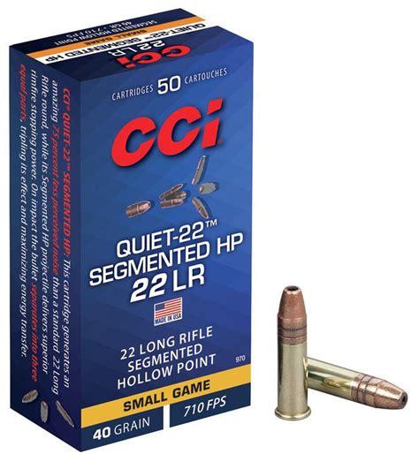 Cci Quiet 22 Segmented Hp Ammo Review