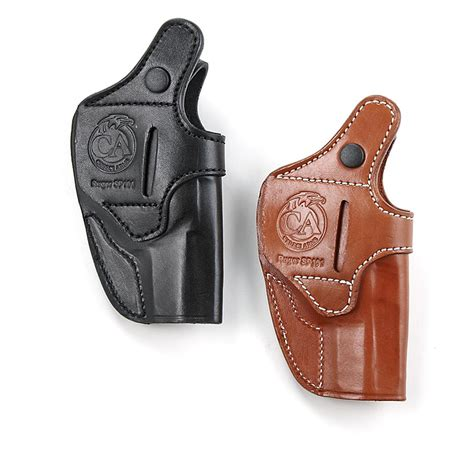 Ruger Cebeci Ruger Sp101 Top-Grain Leather In-The-Pant Holster.