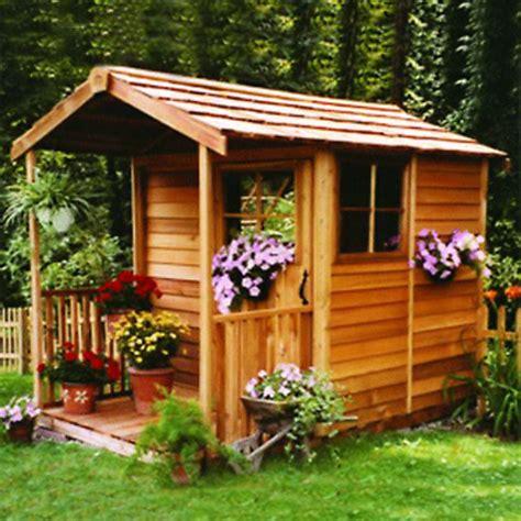 cedar garden sheds for sale.aspx Image