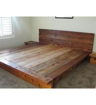Cedar Plank Bed Plans