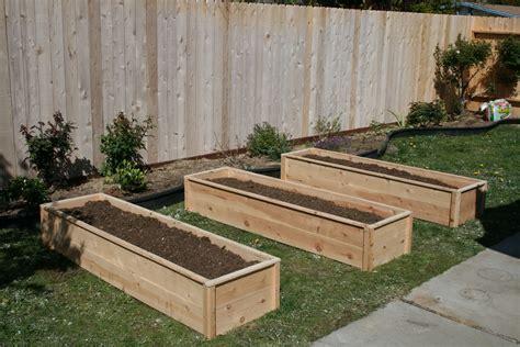 Cedar raised garden beds diy Image
