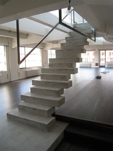 Cement Stairs Design