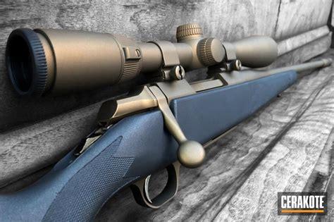 Cerakoted Bolt Action Rifle