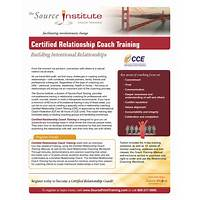 Certified relationship coaching offer