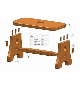 Chair Step Stool Woodworking Plans