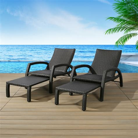 Chaise outdoor furniture Image