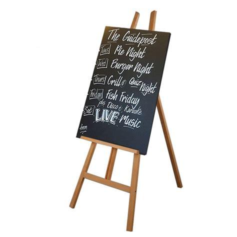 Chalkboard and easel Image