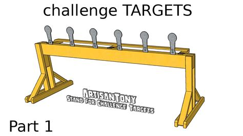 Challenge Targets Diy Autoreset Popper Plates Part 1 Building The Stand