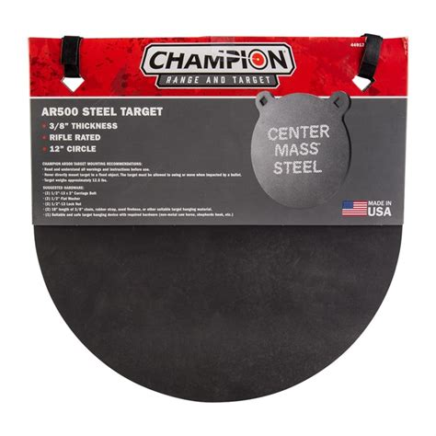 Champion Targets Center Mass 3 8