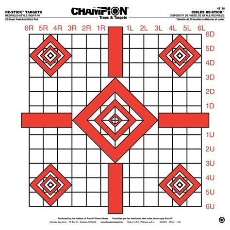 CHAMPION TARGETS SIGHT-IN TARGET Brownells
