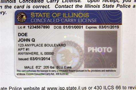Change Address On Concealed Handgun License In Illinois