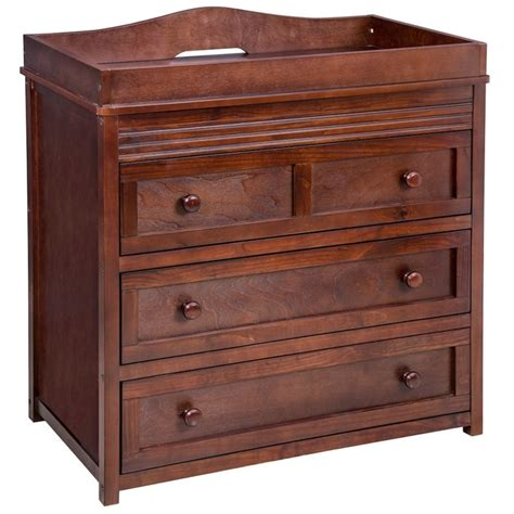 Changing table dresser wood Image