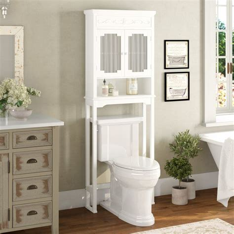 "Chapeau 24"" W x 67"" H Over the Toilet Storage"