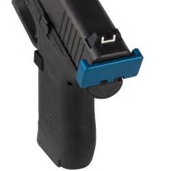 Charging Handle Back Plate For Glock 43