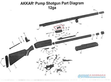 Charles Daly 12 Gauge Pump Shotgun Parts