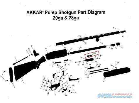 Charles Daly 20 Gauge Pump Shotgun Parts