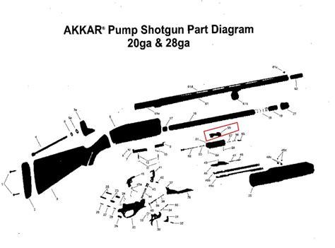 Charles Daly Pump Shotgun Parts Diagram