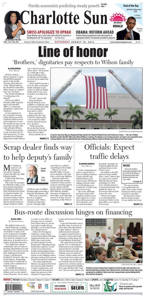 Charlotte Sun Herald - Ufdc Ufl Edu