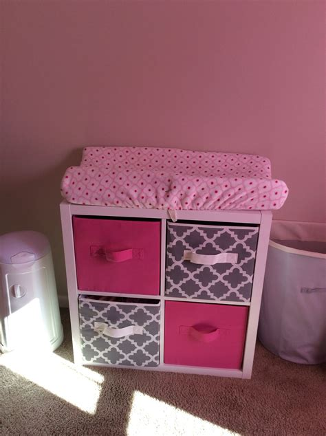 cheap changing table ideas